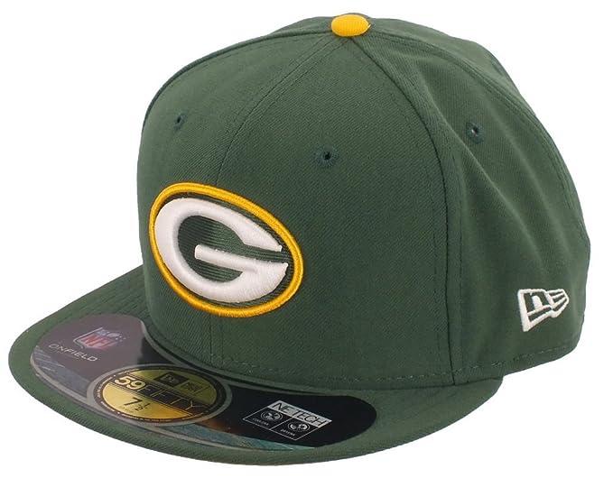 New Era ERA Green Bay Packers - Gorra NFL on Field 59 FIFTY Game ...