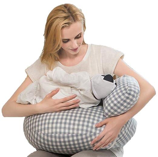 Y-XM Cojin Lactancia Bebe Algodón Bebé Amamantamiento ...