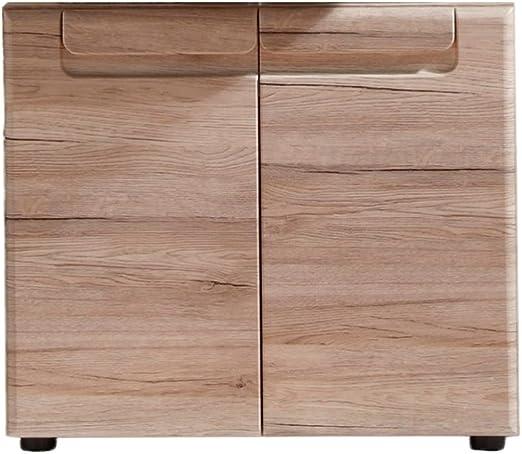 Trendteam Muebles Gabinete Madera Blanco 65 X 56 X 35 Cm: Amazon ...