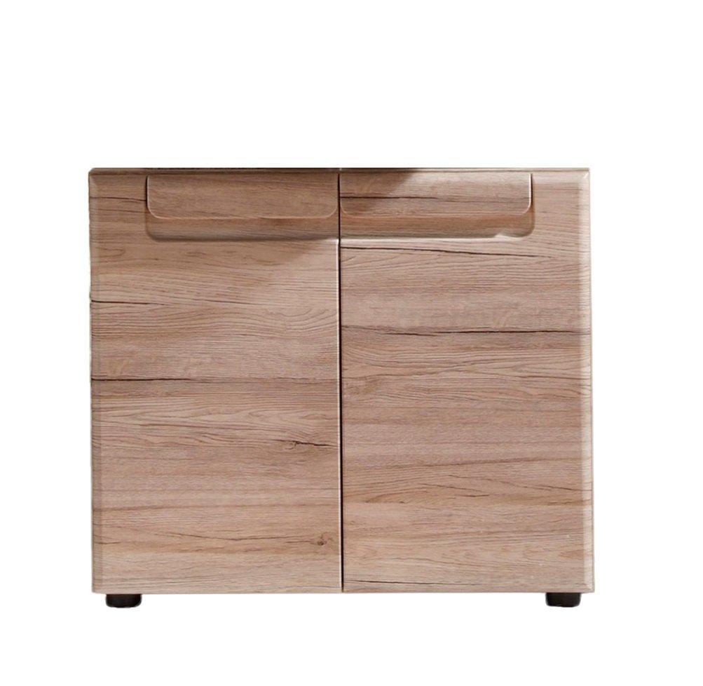 Trendteam 132430190 Malea Mueble Bajo Lavabo 65 X 56 X 35 Cm  # Muebles Bajo Lavabo Ikea
