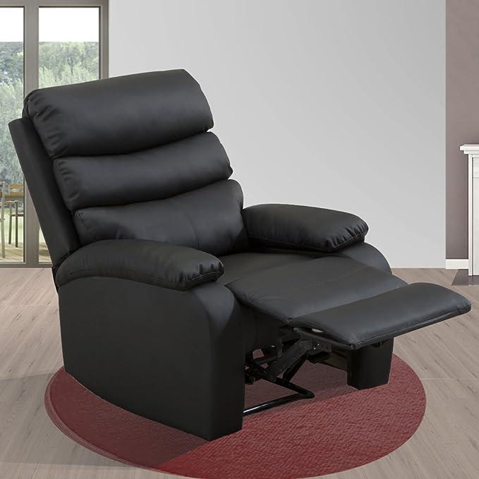 DXIII DELUXE13 Deluxe - Sillón Relax Masaje Reclinable Manual - Calor Lumbar - 8 Motores De Vibración - Máxima Calidad -