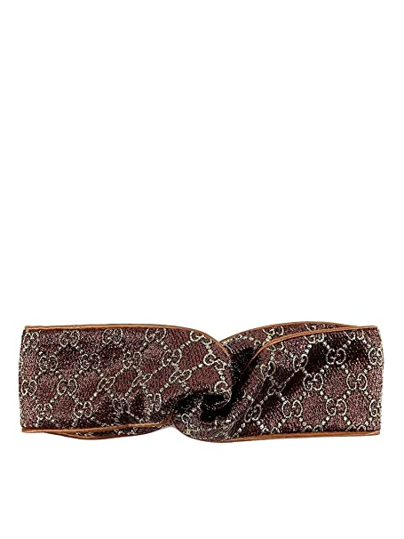 ca16b63019 Gucci Women's 4765333G1902575 Brown Cotton Headband: Amazon.ca ...