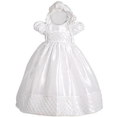 8d2c3a81fda5 Amazon.com  Dressy Daisy Baby Girls  Beaded Baptism Christening ...