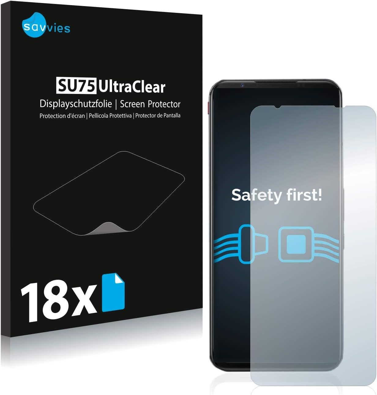 18x Savvies SU75 Screen Protector for