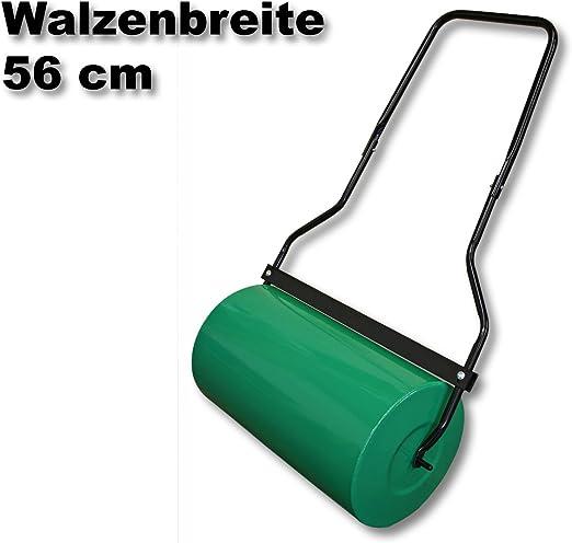 WilTec Rodillo de césped para jardín 57cm Tambor para llenar 45l Agua con Limpiador de Suciedad: Amazon.es: Jardín