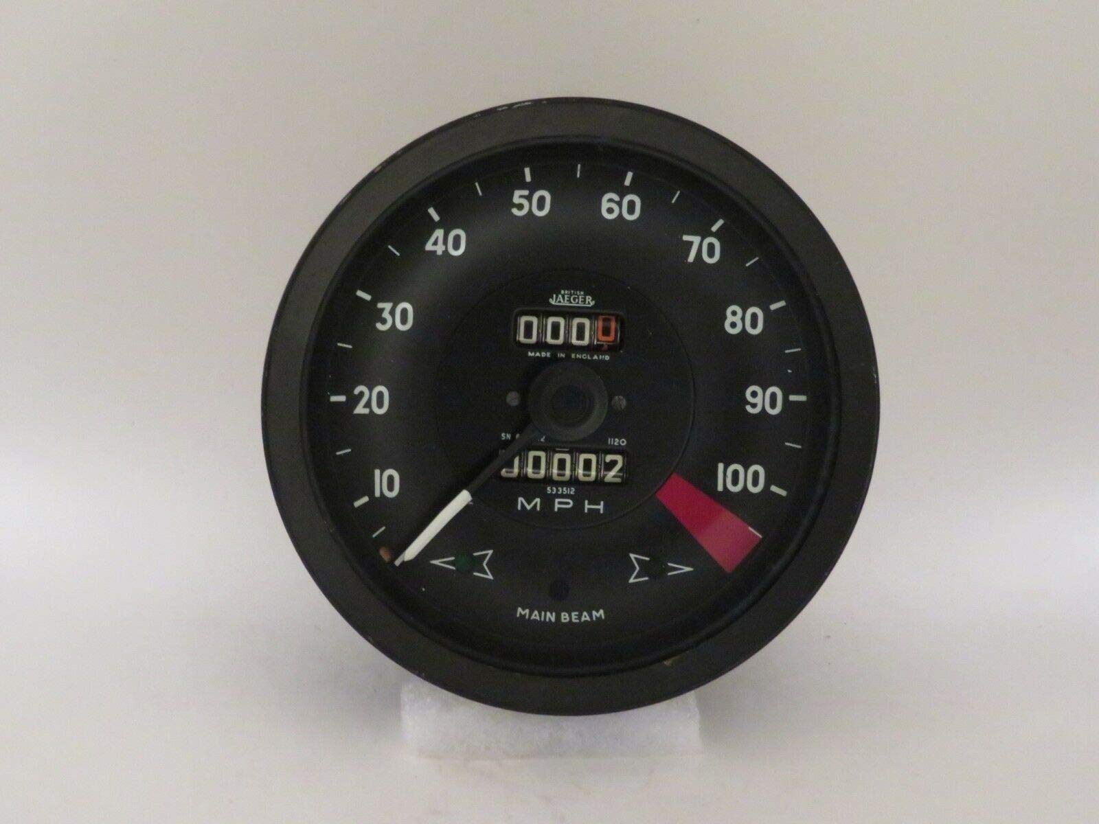 EPC Speedometer NOS Jaeger Brand Fits Rover P5 Saloon 3 Litre SN6131/012 by EPC