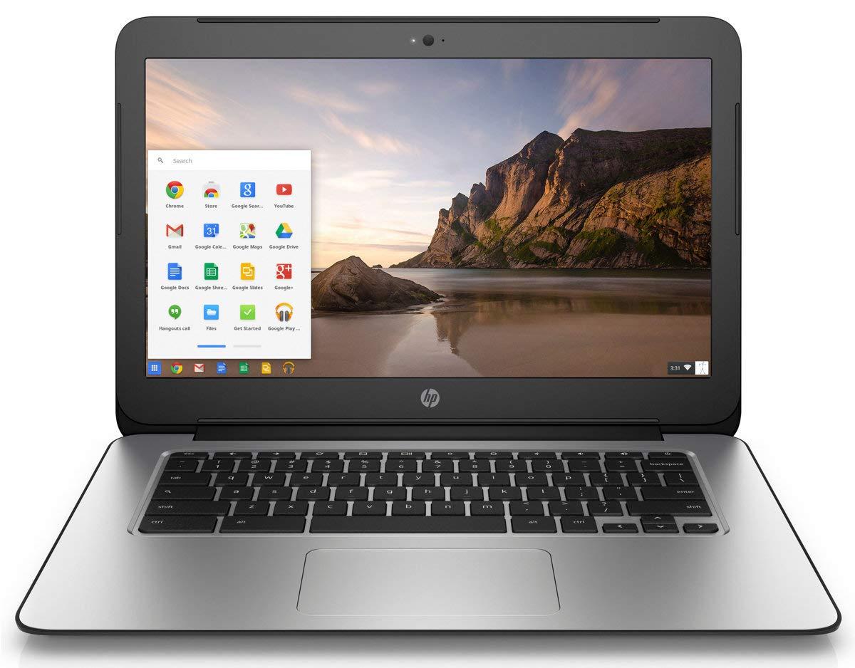 Ordinateur Portable HP Chromebook 14 G3 - Écran 14' - Processeur 2, 1 GHz - RAM 4 Go - 16 Go eMMC - Google Chrome (certifié reconditionné) 1 GHz - RAM 4 Go - 16 Go eMMC - Google Chrome (certifié reconditionné)