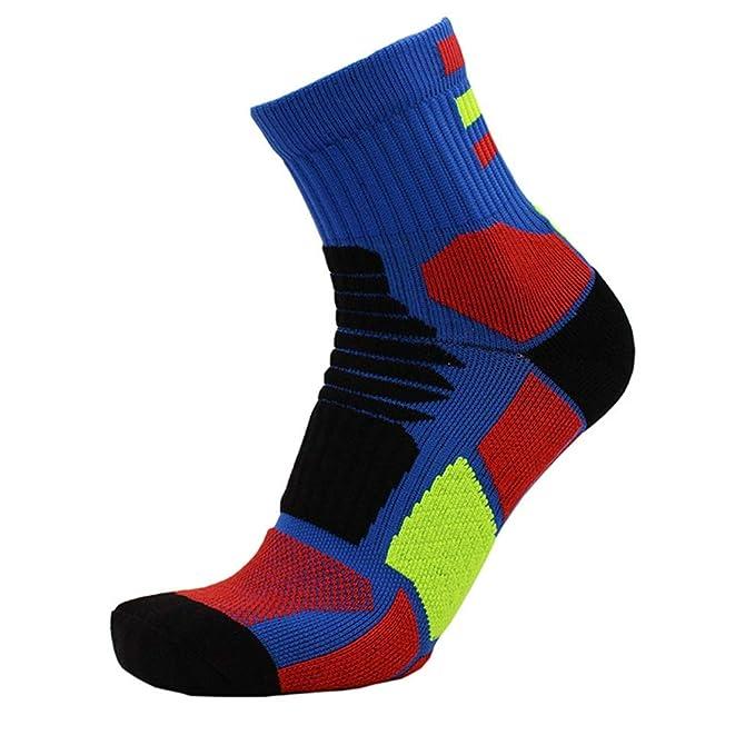 Diario Calcetines de baloncesto para hombres Calcetines de toalla Calcetines transpirables absorbentes del sudor Calcetines deportivos