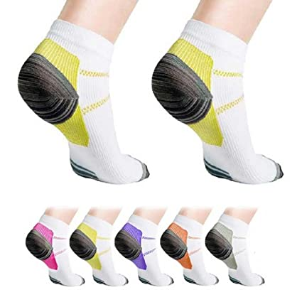 999a0e9ff8 Amazon.com: Extreme Fit Unisex Ankle Compression Socks 6-Pair: Clothing