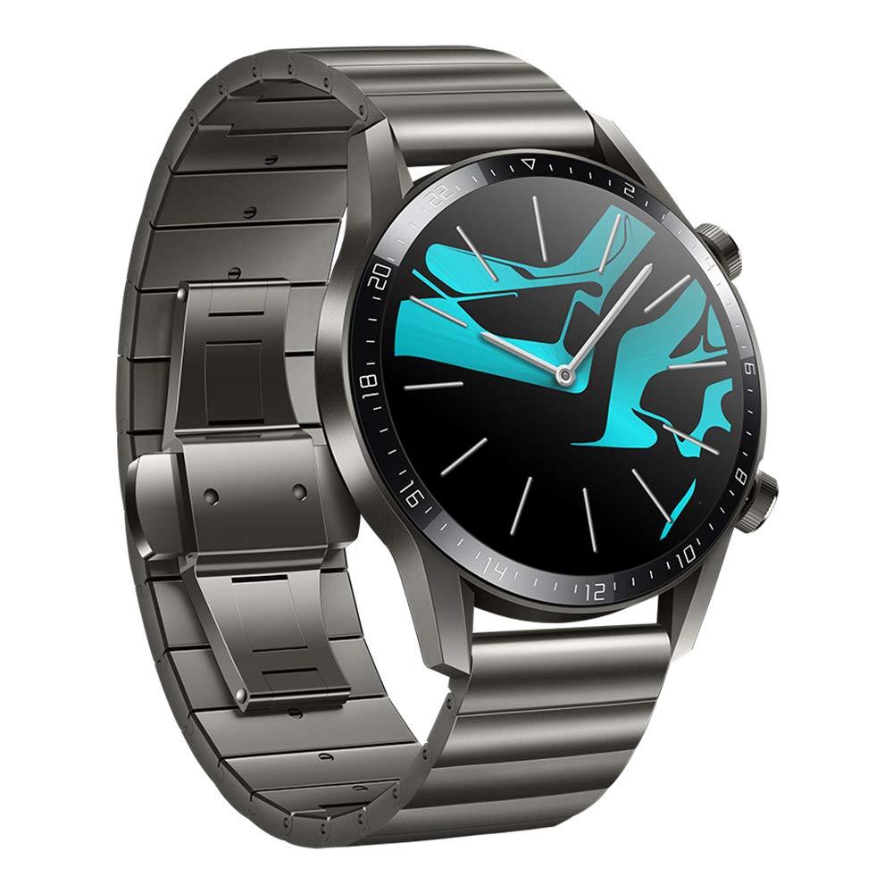 Huawei Watch GT 2 Elegant, Smartwatch con Caja de 46 mm (hasta 2 Semanas de Batería, Pantalla Táctil AMOLED de 1.39