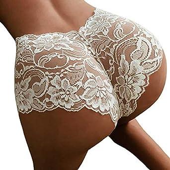 Moonuy Sexy Girl Taille Haute G-String Slip Pantie String Lingerie Culotte  Dentelle Hotpants Underwear Respirant Brief Mode Élégant Pantie Thong  Lingerie ... 959e9ee9908