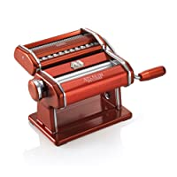 Marcato Atlas Light Alloy 150 Pasta Maker Machine, Red