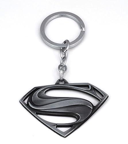 Gemelolandia Llavero Superman Negro: Amazon.es: Joyería