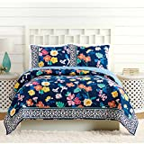 Vera Bradley A738A16NYNFE Maybe Navy Quilt, KING