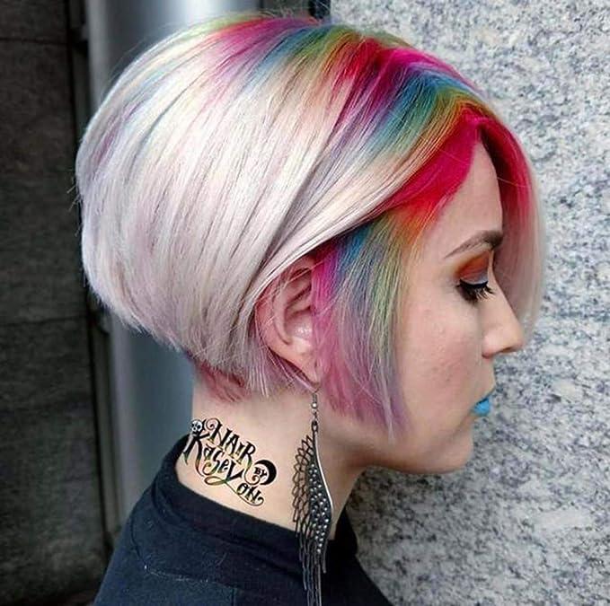 Juego de tizas para el cabello temporales de colores ...