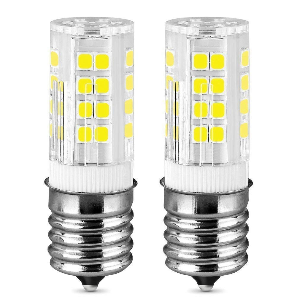 Pure white E17 LED T7 T8 Intermediate Base LED Appliance Bulb T8 T7 Lightbulb...