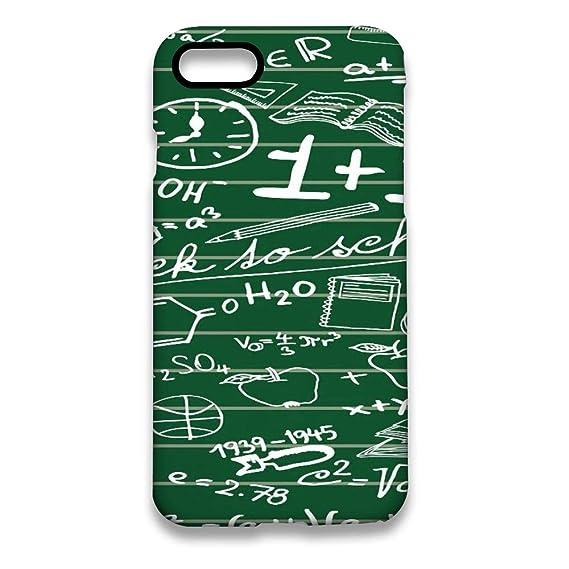 Amazon com: iPhone 8 Case/iPhone 7 Case (4 7 inches) Math