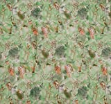 """Green Dressmaking Cotton 42"""" Wide Abstrct Printed Material Sewing Fabric By Per Yard"""