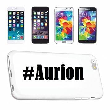 cubierta del teléfono inteligente Samsung S7 Galaxy Hashtag ...