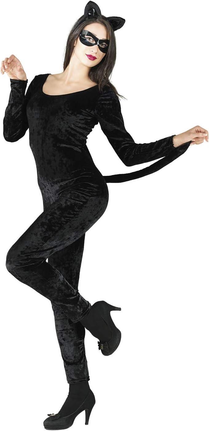 chiber Disfraces Disfraz Mujer Gato Negro: Amazon.es: Juguetes y ...