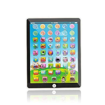 Rosepoem 10 pulgadas Computadora Ipad Plástico educativo Tablet Touch Control Niños creativos
