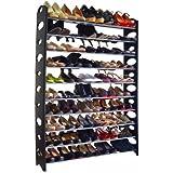 Unbranded* 10-Tie Shoe Rack for 50 Pair Wall Bench Shelf Closet Organizer Storage Box Stand