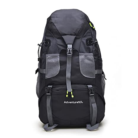 2e78c47f4852 Amazon.com : KEXKL 50L Waterproof Hiking Backpack Trekking Travel ...
