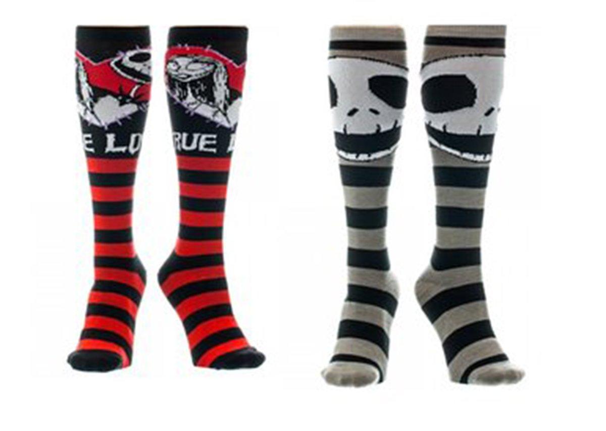 Nightmare Before Christmas Socks Jack Skellington Sally Crew Socks ...