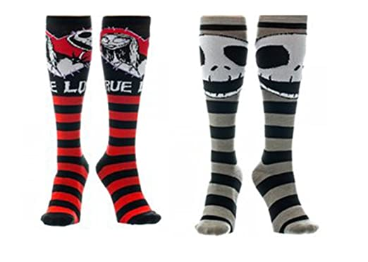 nightmare before christmas socks jack skellington sally crew socks