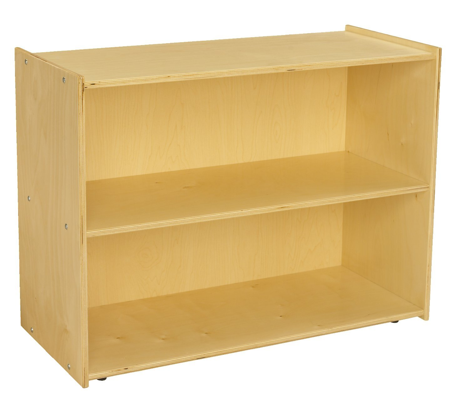 Childcraft 1526314 ABC Furnishings Deep Shelf Storage Units, 27.38'' Height, 16'' Width, 36'' Length, Natural Wood