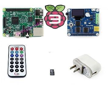 raspberry-pi3-pack (B) nuevo modelo B de Raspberry Pi 3 ...