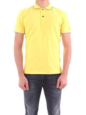 Peuterey - Camiseta de Hombre Medinilla STR 03 541 Polo Amarillo ...