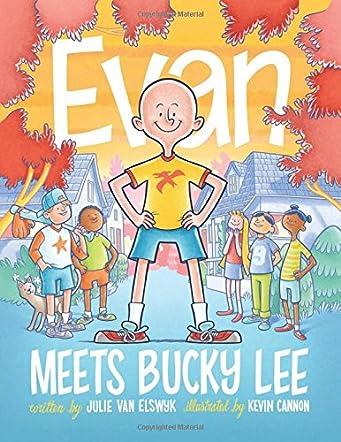 Evan Meets Bucky Lee