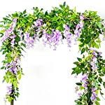Artificial-Flowers-3-Pcs-66ft-Wisteria-Garland-Ivy-Vine-Silk-Hanging-Plants-for-Wedding-Arrangements-Outdoors-Decorations-Home-Garden-Party-Decor-Simulation-Flower-Purple