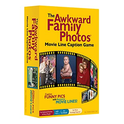 The Awkward Family Photos Movie Line Caption Game - Caption Funny Pics w/ Awesome Movie Lines -> Favorite Caption Wins!: Toys & Games