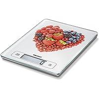 Soehnle Page Profi Digitalwaage für max. 15 kg, digitale Küchenwaage mit großer Wiegefläche und Tara, praktische Haushaltswaage mit Hold-Funktion