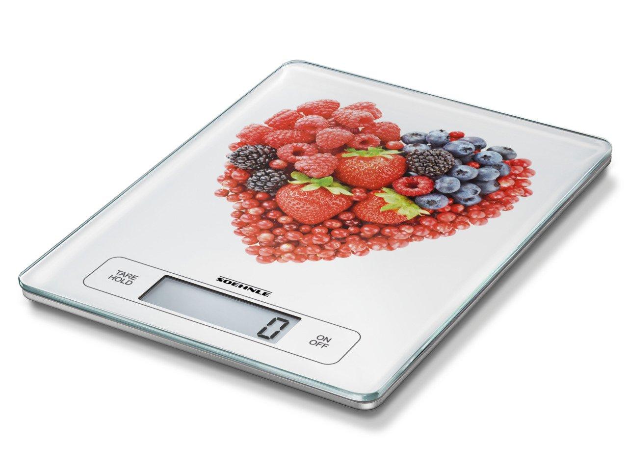 Soehnle 66311 Page Profi Fruit Heart 15 kg Stainless Steel 29.5x23x2.5 cm