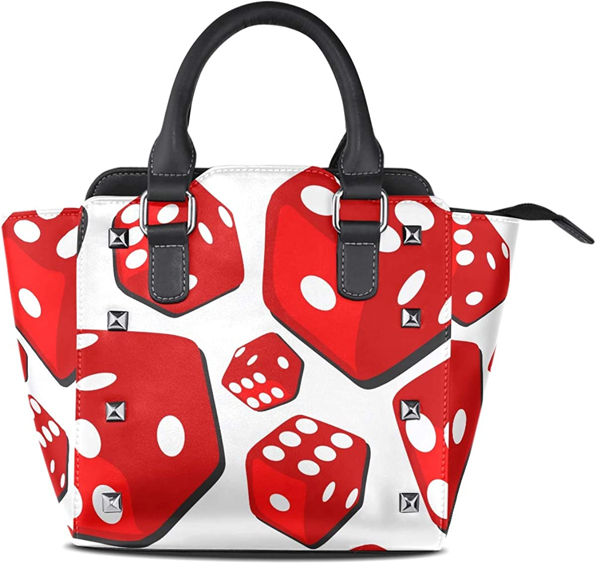 DEZIRO Big Red Dices evening handbags and clutches for women