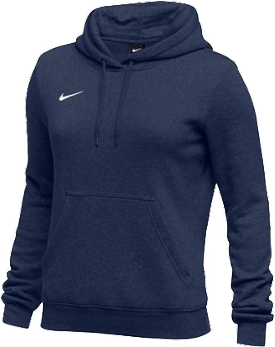 Pero Chaqueta proteger  Amazon.com: Nike Womens Pullover Club Fleece Hoodie: Clothing