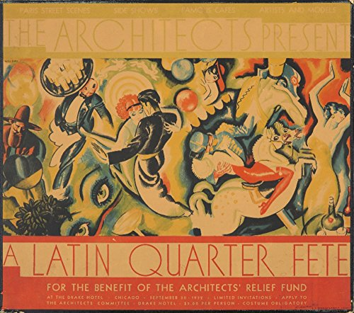 nt - A Latin Quarter Fete Vintage Poster (Artist: Welsh) USA c. 1932 (12x18 Signed Print Master Art Print w/Certificate of Authenticity - Wall Decor Travel Poster) ()