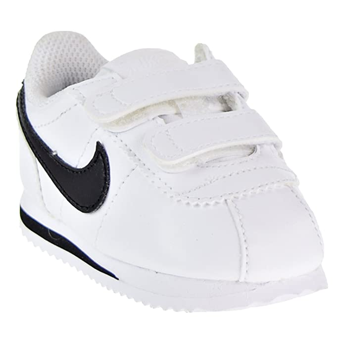 Amazon.com | NIKE Cortez Basic SL Toddlers Shoes White/Black 904769-102 | Sneakers