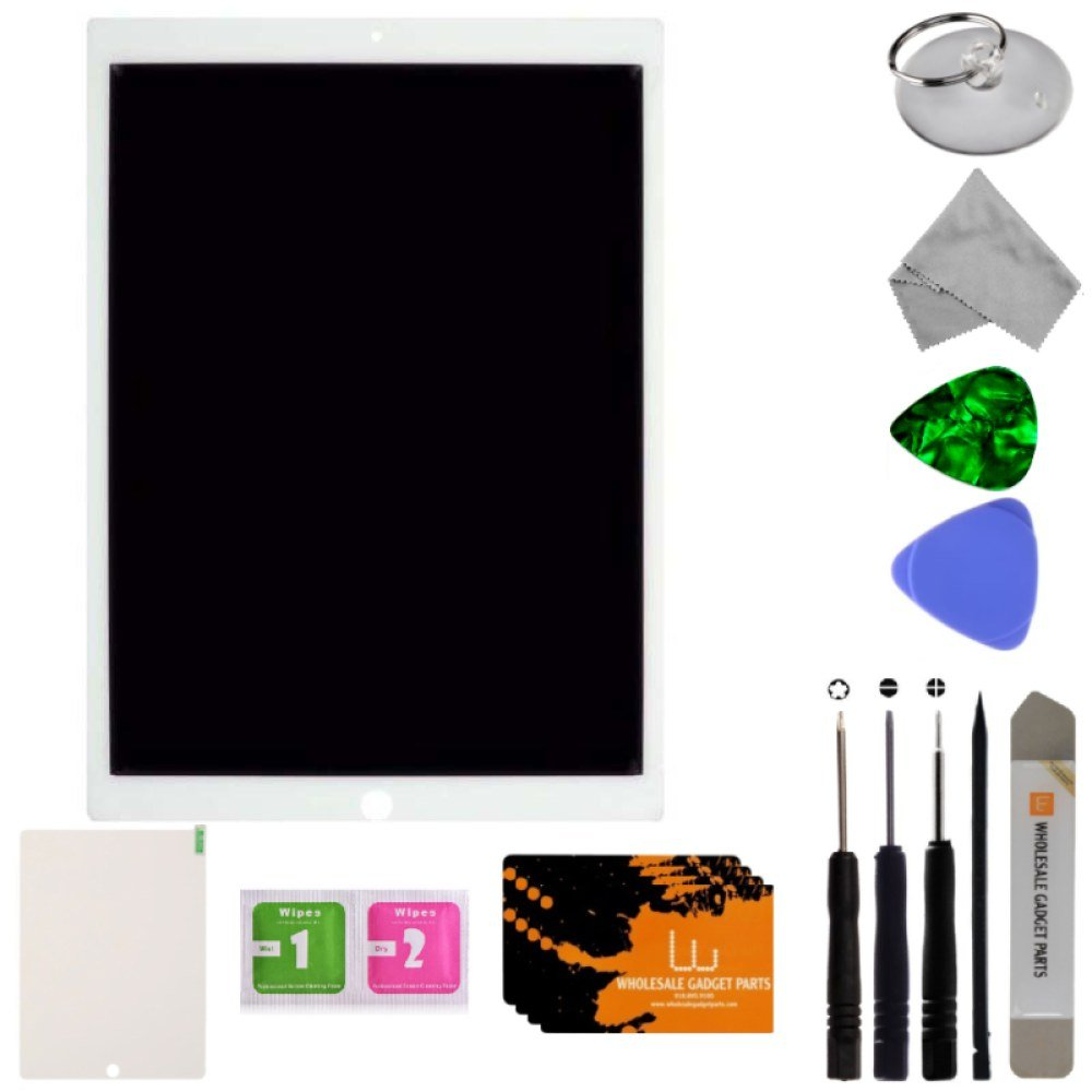 LCD & Digitizer Assembly for Apple iPad Pro 12.9'' First Edition (White) with Tool Kit