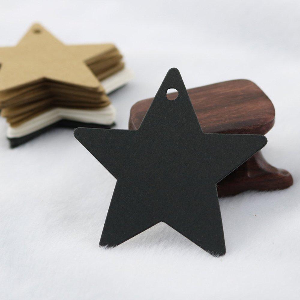 Marmeladen etc Weihnachten Etiketten Tags Geschenk Anh/änger,100 St/ück kraftpapier H/ängeetiketten 6 CM 6 CM mit 30 Meter Jute-Schnur f/ür Weihnachtsgeschenke