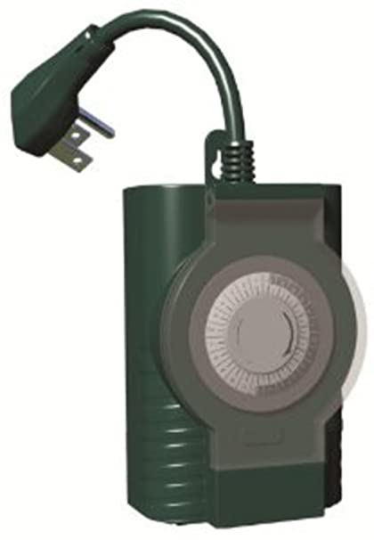 Fresh Outdoor Dusk to Dawn Plug In Timer with Photocell