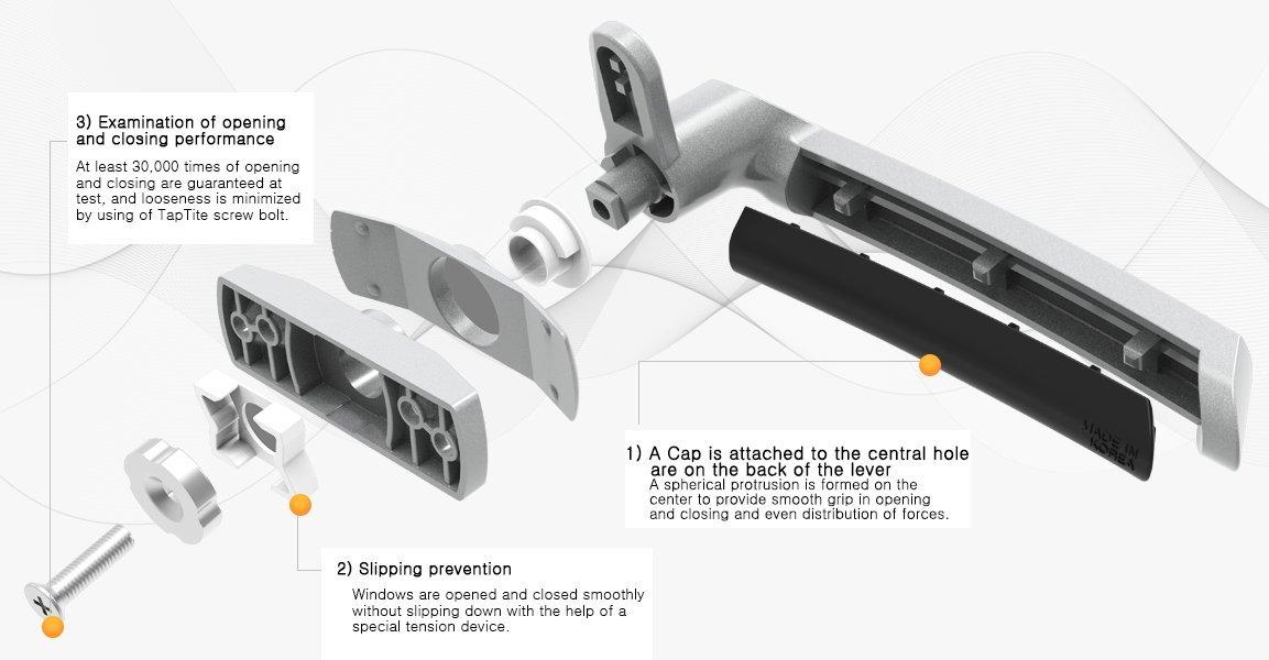 Woodlock Luxury Handle IPJ-100 (IPJ-200)