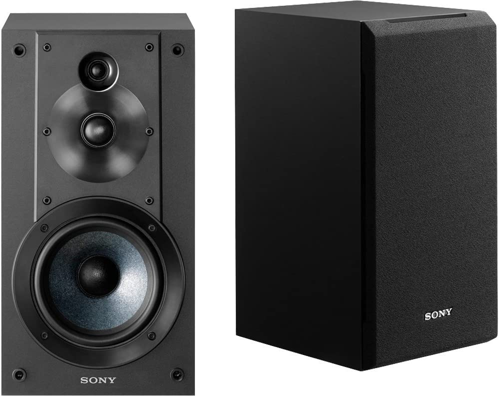 Sony SS-CS5 - Equipo de Altavoces estéreo de 100 W (Compatible Hi-Res Audio), Negro