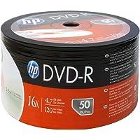 Dvd-R Hp Gravável Bulk Com 50 Unidades, Cis, 46.3024, Prata