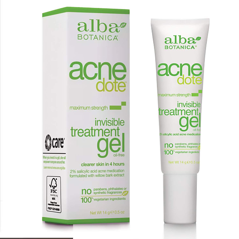 Alba Botanica Acne Dote Invisible Treatment Gel