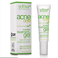 Alba Botanica Acnedote Maximum Strength Invisible Treatment Gel, 0.5 oz.