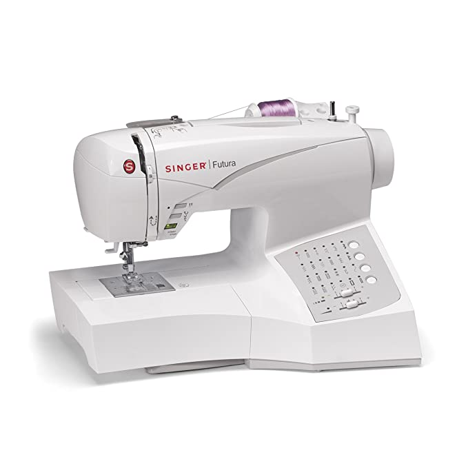 Amazon Singer CE40 Futura Sewing And Embroidery Machine Impressive How To Thread A Singer Futura Sewing Machine